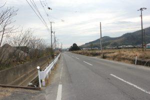 弁天山(6.1m)遠望(2016.1)