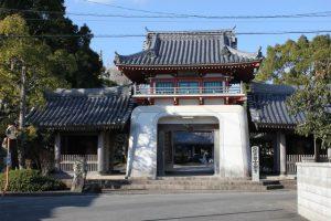 安楽寺仁王門(2016.1)