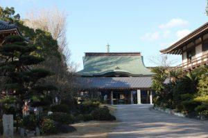 安楽寺本堂(2016.1)