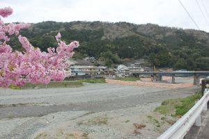 広野で玉ケ峠ルート&神山温泉ルート合流(2017.4)