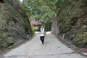 玉ヶ峠。大坂堺から通し遍路(2017.4)