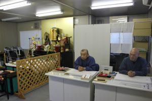 礼拝所内の納経場所(2017.6.24)