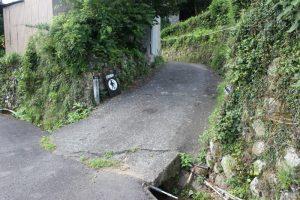 登り口(2017.7)