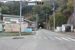 国道197号遍路道のトンネル(2018.2)