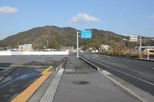 国道56号から松尾峠へ(2018.2)