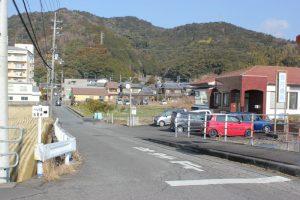 松尾峠への遍路道(2018.2)