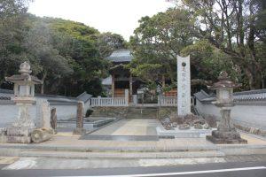 金剛福寺仁王門(2018.2)