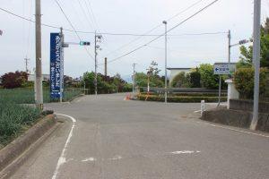 和三盆糖工場脇を遍路(2019.5.5)