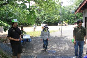 チェックポイントの川島城公園(2019.5)